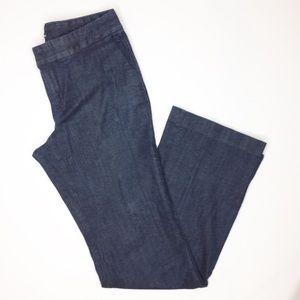 GAP dark denim trousers size 6 tall long